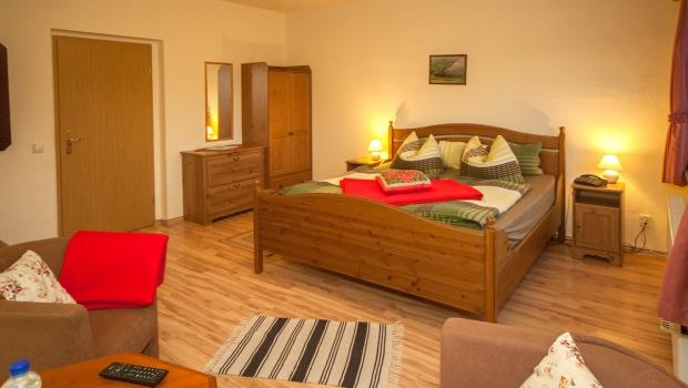 Doppelzimmer mit Möglichkeit der Aufbettung