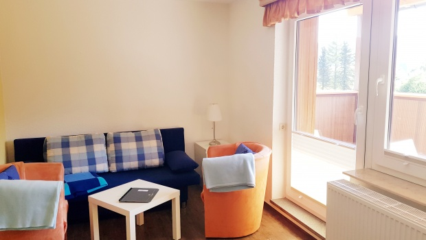 Wohn-/Esszimmer (kleine Ferienwohnung