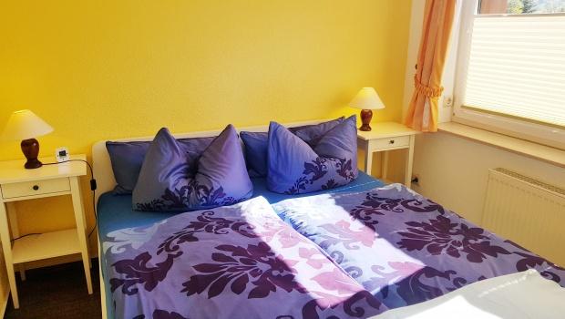 Schlafzimmer (kleine Ferienwohnung)